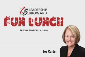 Joy Carter Leadership Broward